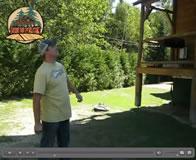 Bruno vous presente son tout nouveau Log cabine 10 pouces (déclin de bois rond) exclusif chez bois de pin